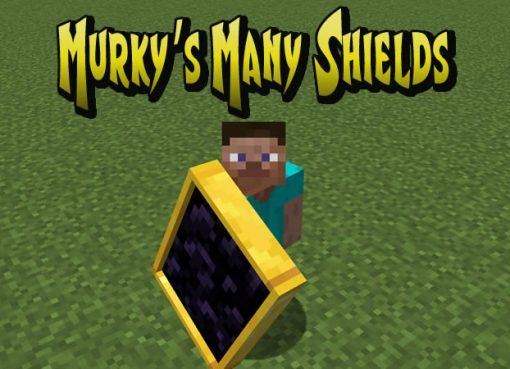 Murky's Many Shields Mod for Minecraft