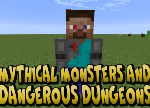 Mythical Monsters and Dangerous Dungeons Mod