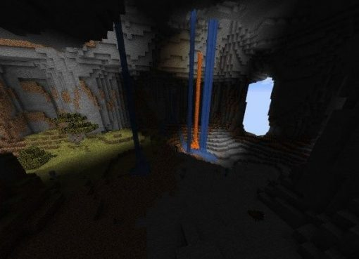 Nice Cave With Waterfalls Seed for Minecraft 1.15.2/1.14.4