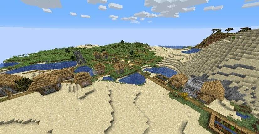 Nice Cave With Waterfalls Seed Screenshot 3