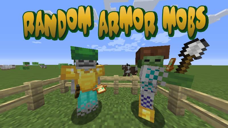 RandomArmorMobs Mod