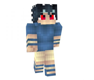 Sasuke Uchiha (Naruto) Skin for Minecraft