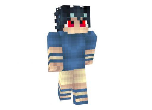 Sasuke Uchiha (Naruto) Skin for Minecraft