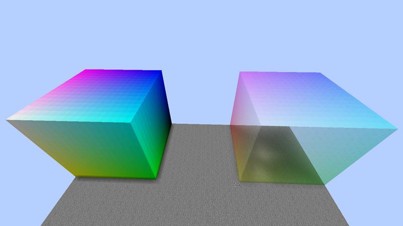 Simple Colored Blocks Mod Screenshot