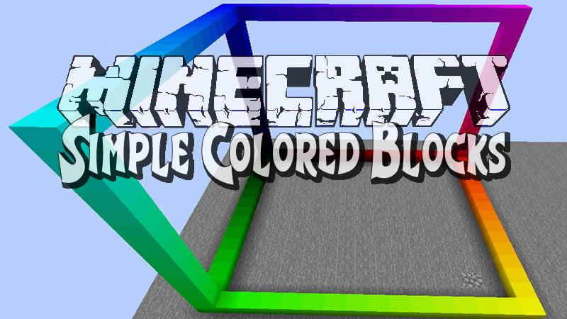 Simple Colored Blocks Mod