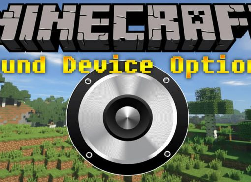 Sound Device Options Mod for Minecraft