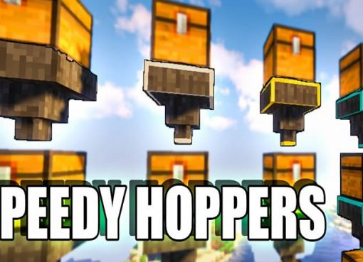 Speedy Hoppers Mod for Minecraft