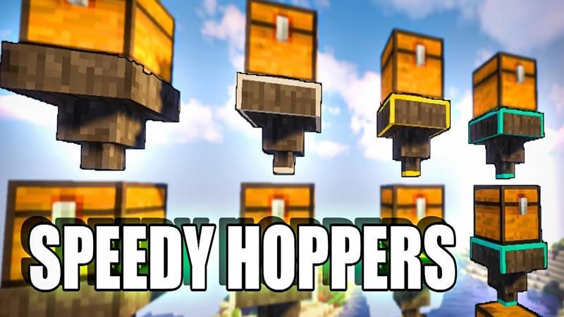 Speedy Hoppers Mod for Minecraft