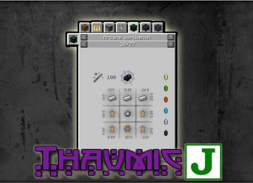 Thaumic JEI Mod