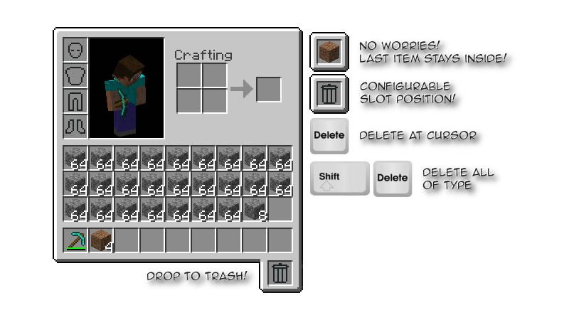 TrashSlot Mod Screenshot