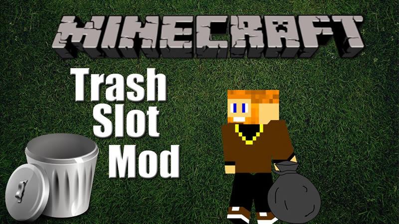 TrashSlot Mod for Minecraft