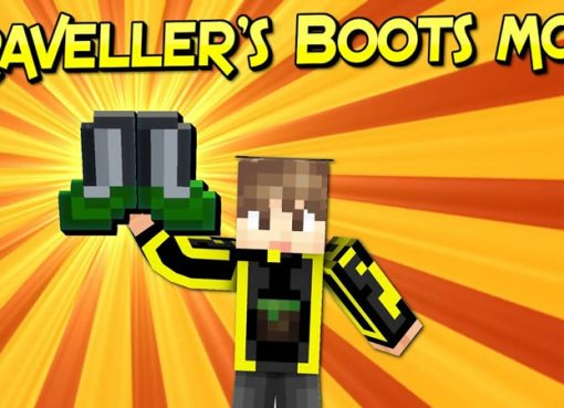 Traveller's Boots Mod for Minecraft