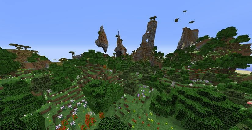 Unusual Mountains Seed 1.12.2 Screenshot 2