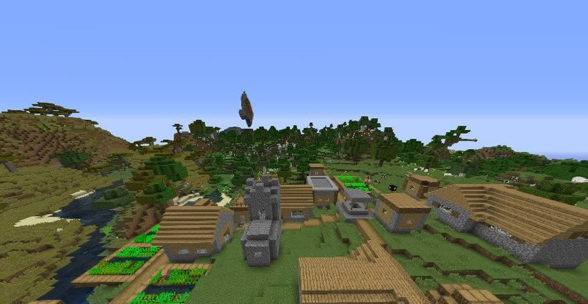 Unusual Mountains Seed 1.12.2 Screenshot 3