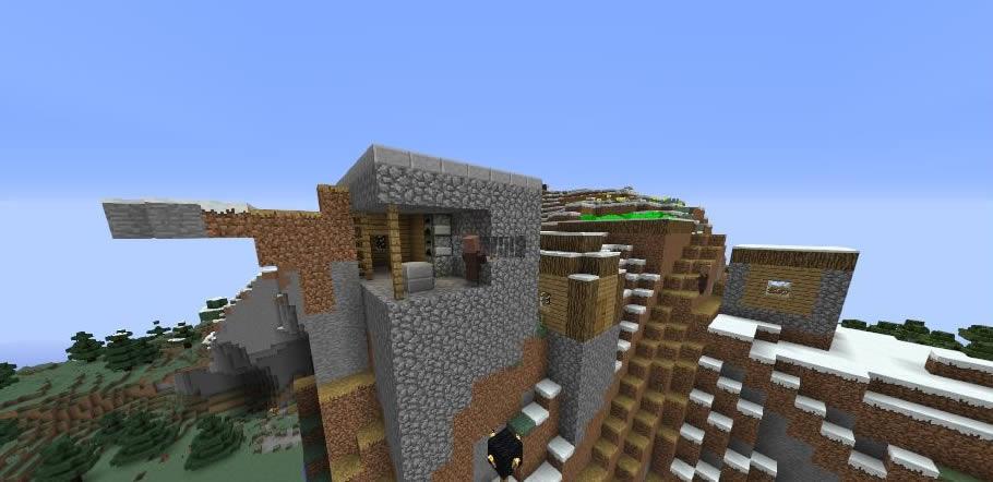 Waterfall Village Seed Screenshot 2