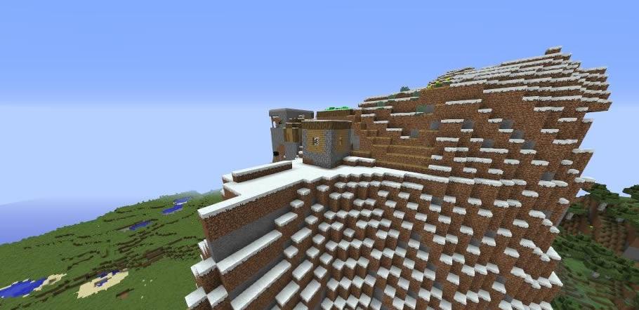 Waterfall Village Seed Screenshot
