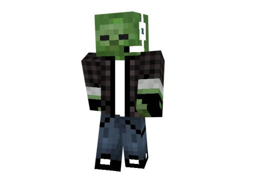 Zombie Snake Skin for Minecraft