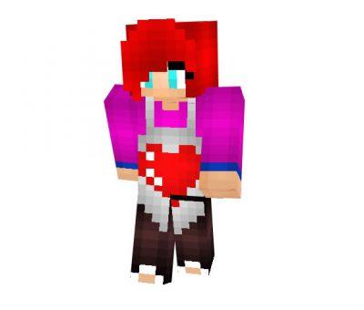 Baker Girl Skin for Minecraft