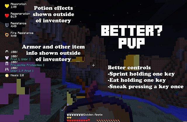 Better PvP Mod Screenshot