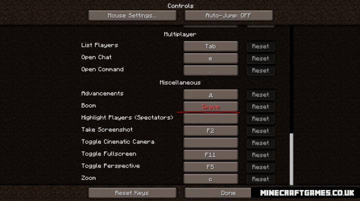 BoomJumper Mod Screenshot