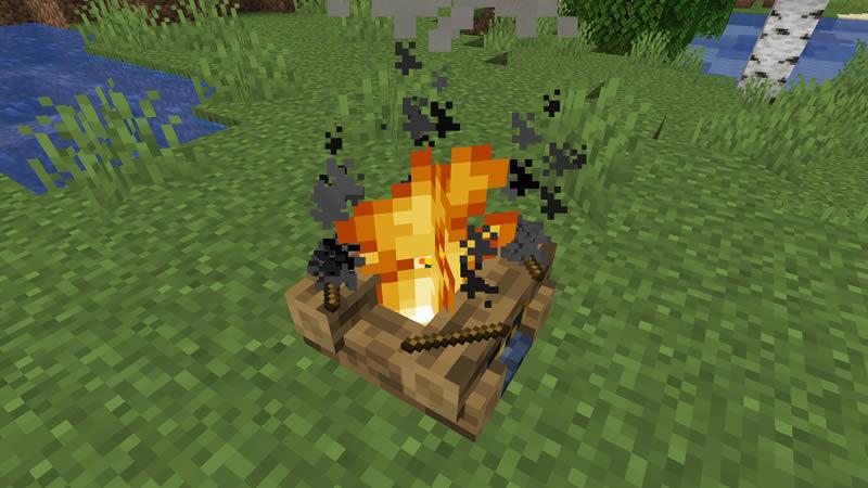 Campfire Torches Mod Screenshot