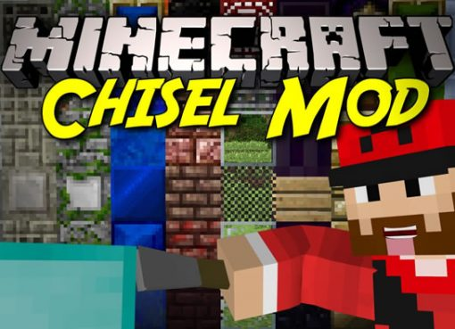 Chisel 2 Mod for Minecraft