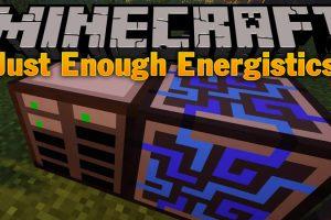 Just Enough Energistics Mod