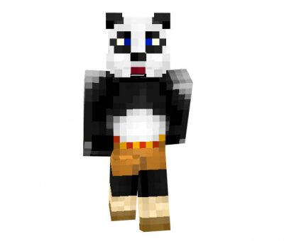 Kong Fu Panda Skin for Minecraft