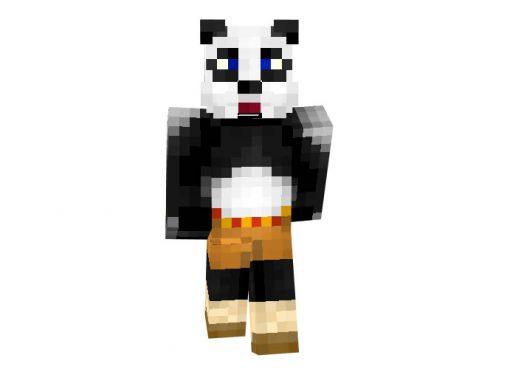 Kong Fu Panda Skin for Minecraft