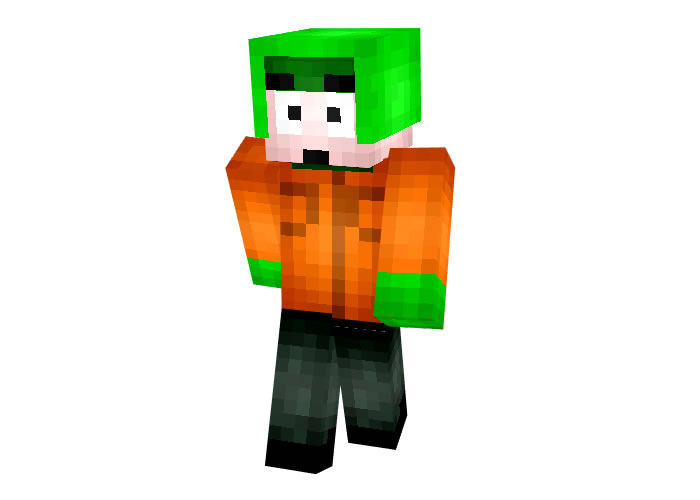 Kyle Broflovski (South Park) Skin for Minecraft