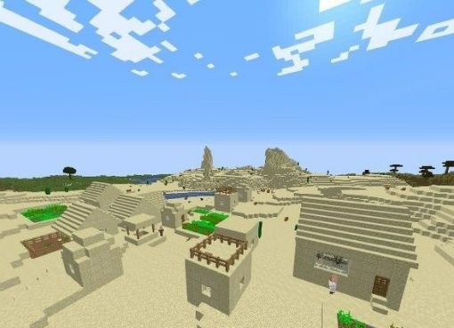 Nine Villages Seed for Minecraft 1.15.2/1.14.4