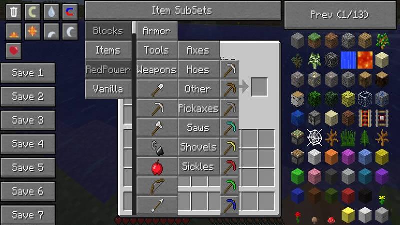 Not Enough Items Mod Screenshot