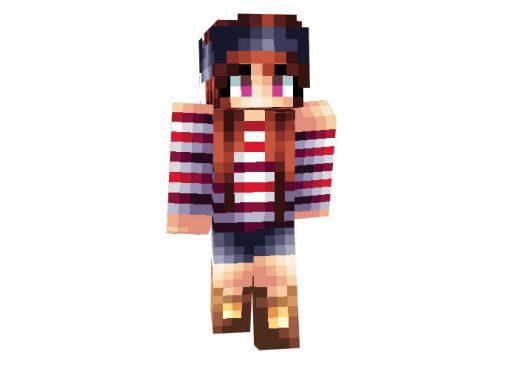 Pirate Girl Arrr Skin for Minecraft