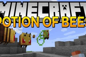 Potion of Bees Mod