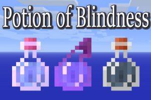 Potion of Blindness Mod