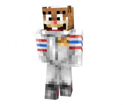 Sandy Cheeks (SpongeBob SquarePants) Skin for Minecraft