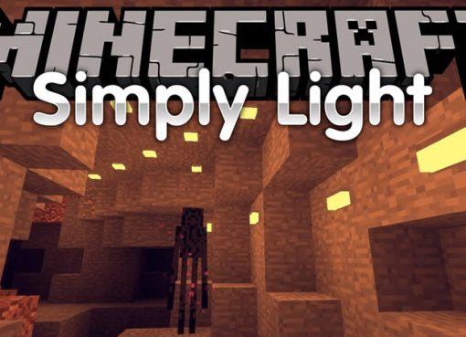 Simply Light Mod for Minecraft