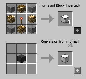 Simply Light Mod Crafting Recipe 2