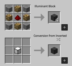 Simply Light Mod Crafting Recipe