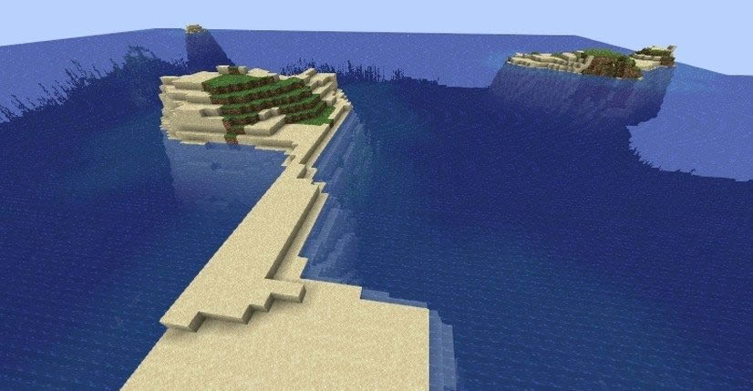 Small Island With Ship Seed Screenshot 2