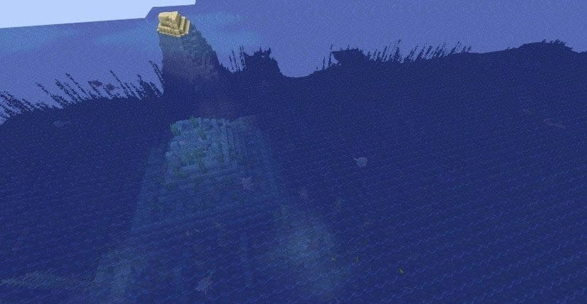 Small Island With Ship Seed Screenshot