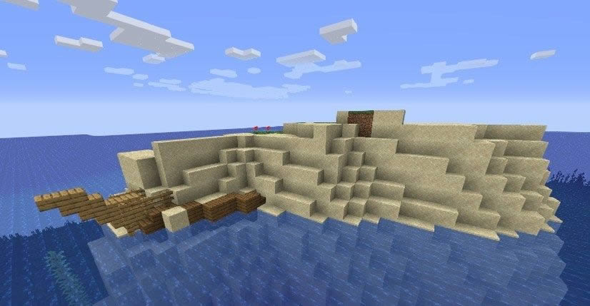 Small Island With Ship Seed for Minecraft 1.15.2