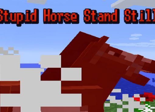 Stupid Horse Stand Still Mod for Minecraft