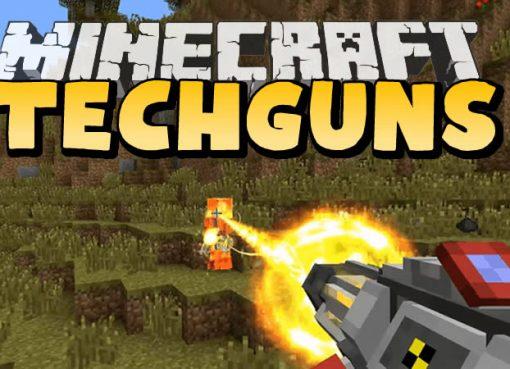 Techguns Mod for Minecraft