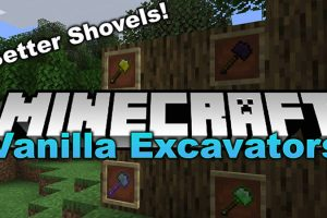 Vanilla Excavators Mod