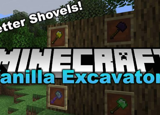Vanilla Excavators Mod for Minecraft