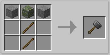 Vanilla Hammers Mod Crafting Recipe 14