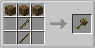 Vanilla Hammers Mod Crafting Recipe 15