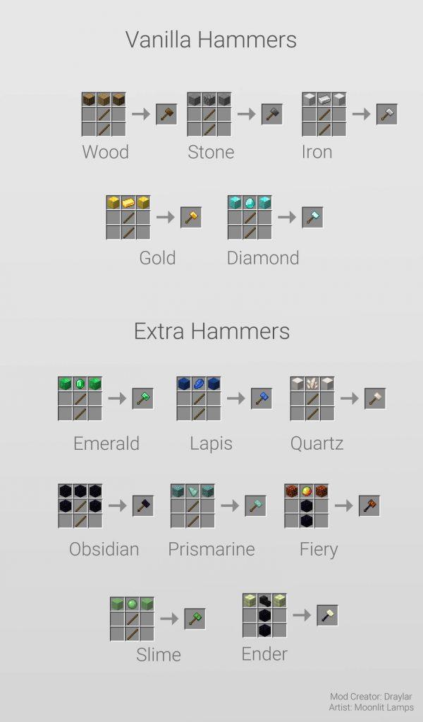 Vanilla Hammers Mod Screenshot