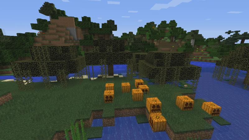 Village with a Great Loot Minecraft Seed Screenshot 2